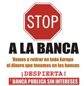 Stop a la banca