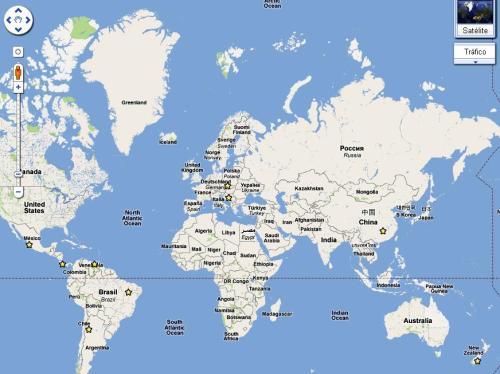 Enormes esferas perfectamente redondas, de varias toneladas algunas, por todo el mundo…Quien las hizo, y para que? Mapa-mundi