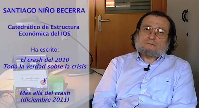 """Niño Becerra: """"El programa económico de Podemos es absolutamente ganador y realizable"""""""