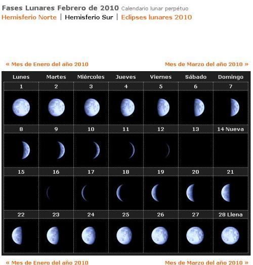 Calendario lunar definicion imagui for Calendario de fases lunares 2016