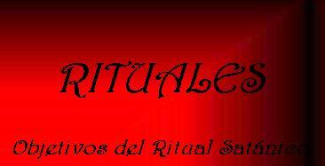 rituales satanicos