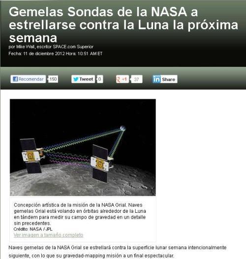 sonda luna nasa