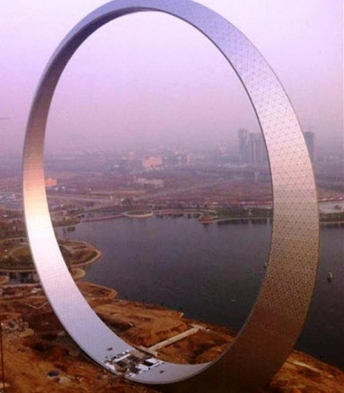build ring of life construccion Aro anillo de la vida china puerta interdimensional stargate