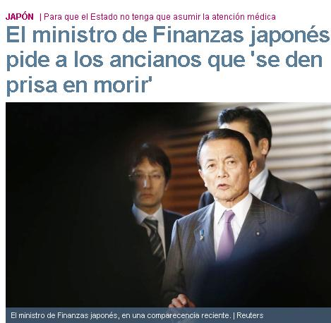 ministro japones