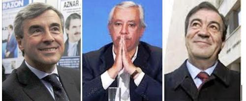 secretarios generales de los sobresueldos