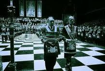 masones suelo ajedrezado