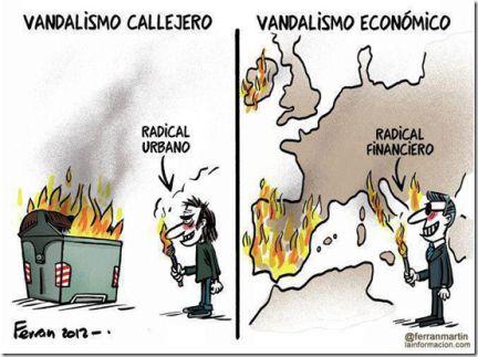 vandalismo economico