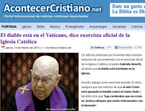 exorcista oficial vaticano