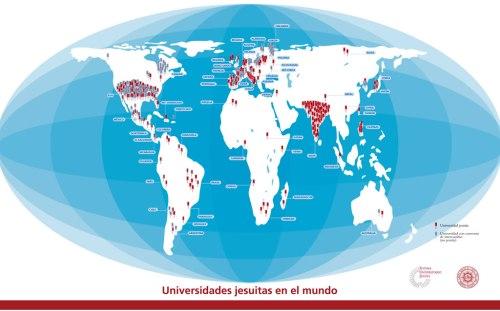 mapa universidades jesuitas