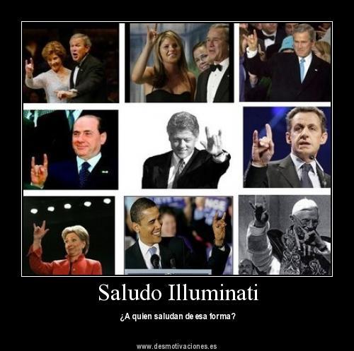 saludo illuminati
