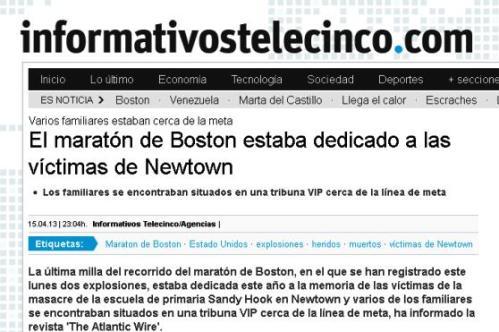 maraton victimas de newton