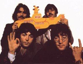John Lennon-Illuminati Induction Hand Sign