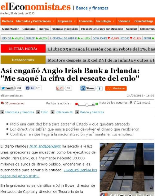 irish bank