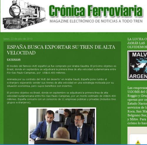 cronica ferroviaria