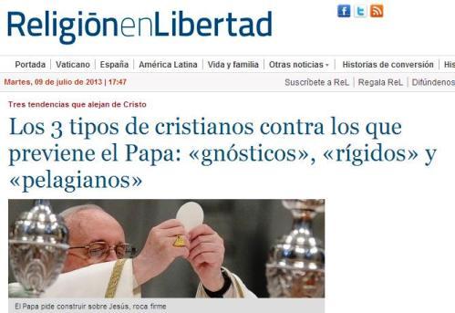 papa homilia