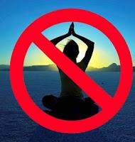 prohibido meditar