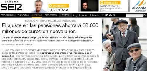 33000 pensiones
