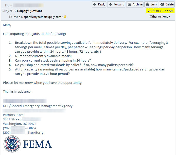 FEMA-email
