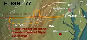 flight77route