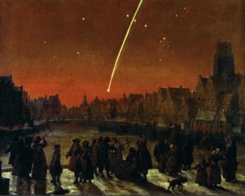 gran cometa 1680 roterdam