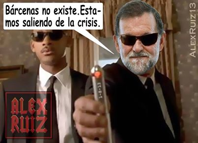 rajoy men in black