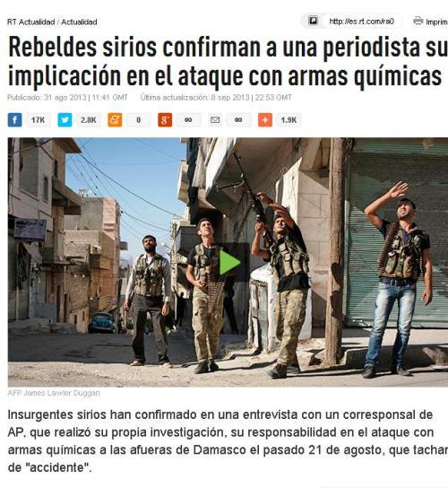 rebeldes sirios confiesan