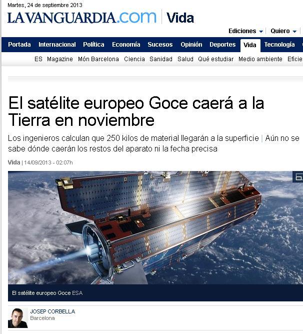 satelite goce