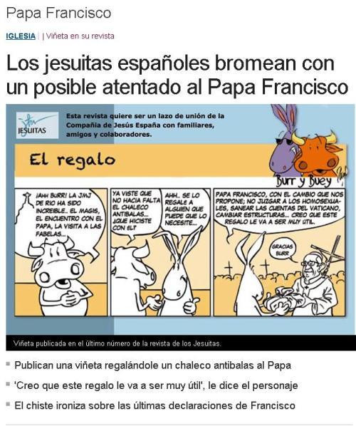 papa jesuitas atentado