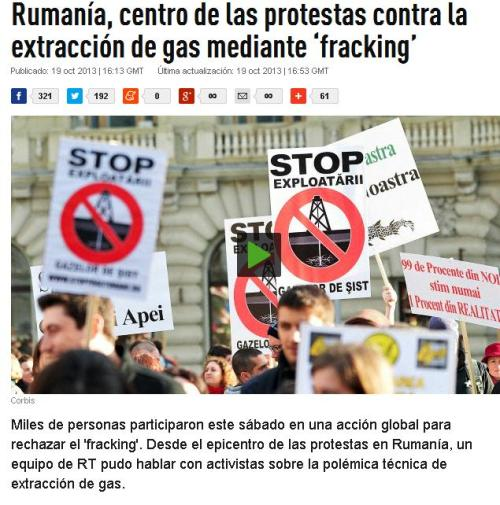 RUMANIA FRACKING
