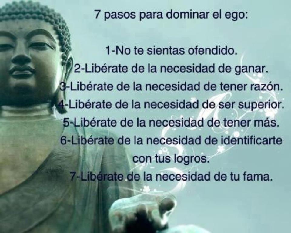 El ego la percepci n de un dios externo y el olvido de - Mandamientos del budismo ...