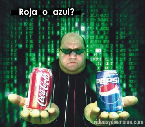 matrix-roja-azul
