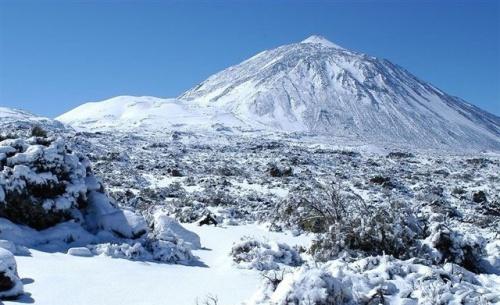 Teide-nieve