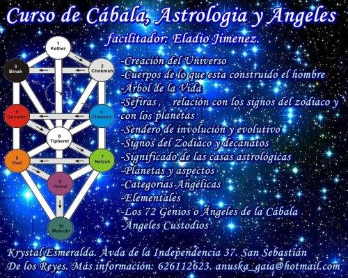 curso de cabala, astrologia y angeles
