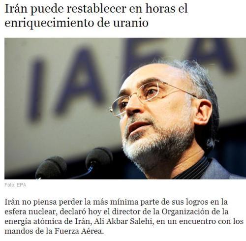 iran uranio