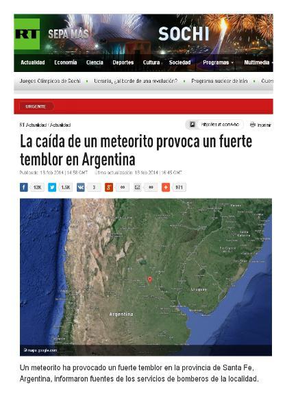 meteorito argentina