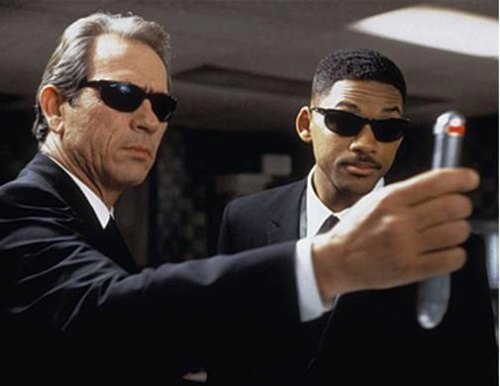 Men in Black movie image Tommy Lee Jones and Will Smith