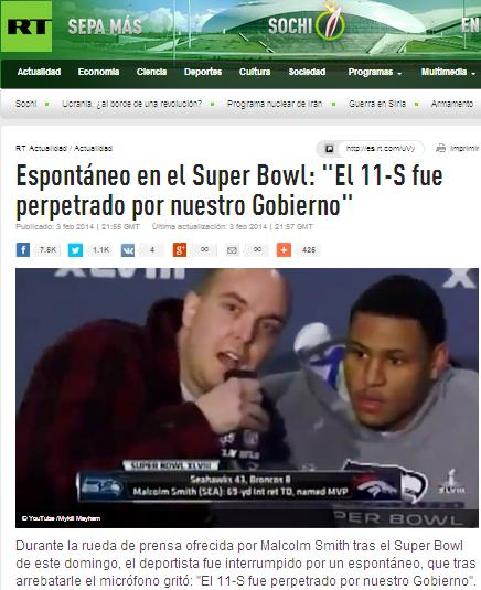 super bowl 11s falsa bandera