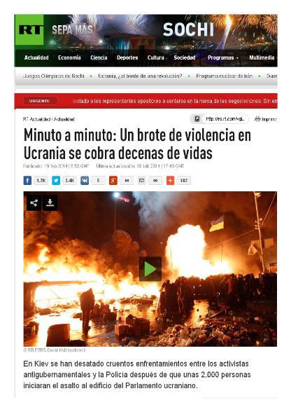 ucrania arde