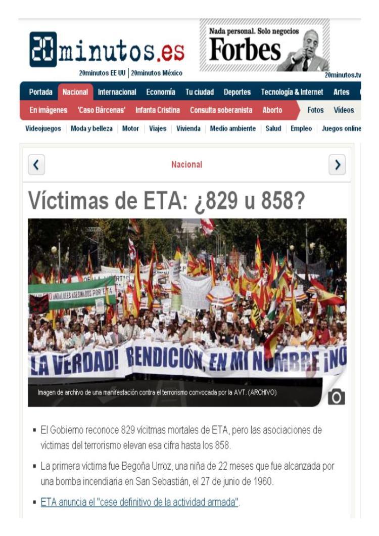 victimas eta 829 o 858