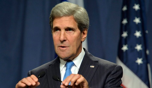 US Secretary of State Kerry meets with Russian Foreign Minister Lavrov