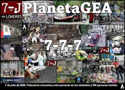 atentados londres 7 del 7 del 2005 (2+5 = 7)....777
