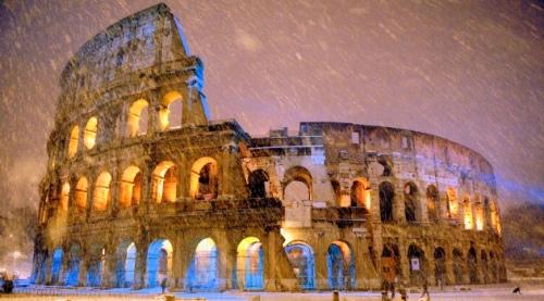 Coliseo-nieve