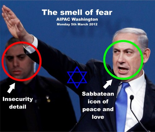 The smell of fear. AIPAC Washington. Monday 5th March 2012.