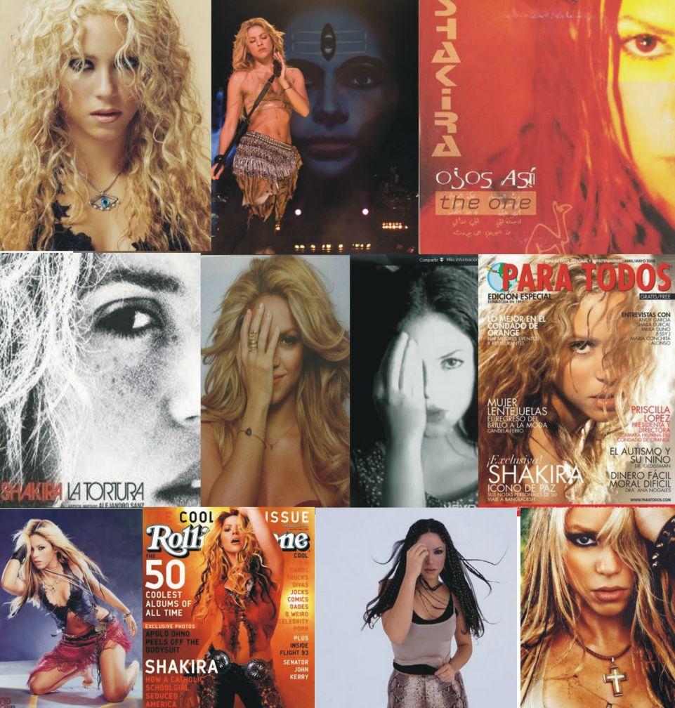 Shakira illuminati