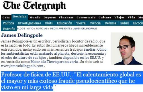 telegraph fraude ipcc