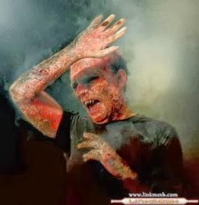 vampiro quemado