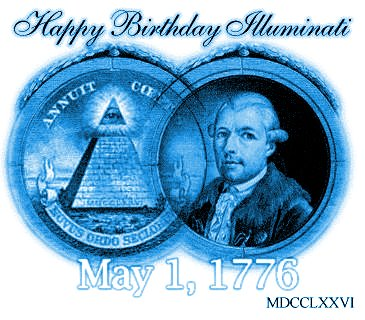 1 de mayo, dia illuminati