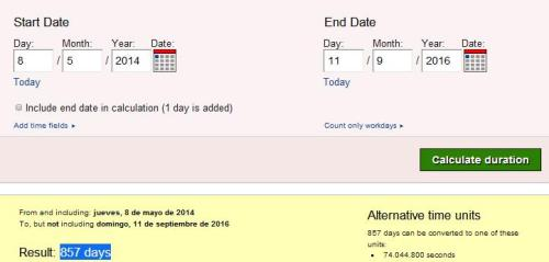 857 dias lamela