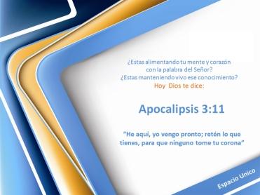 Apocalipsis 3.11