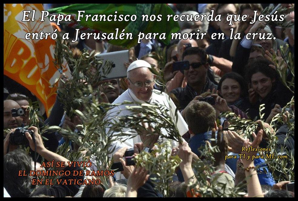domingo ramos vaticano